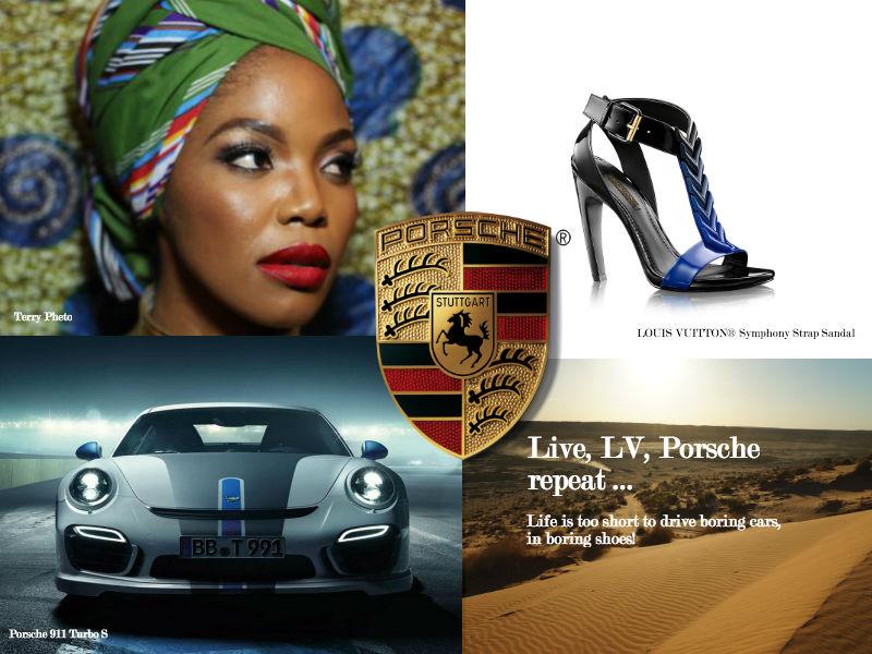 Porsche Louis Vuitton Lux Afrique