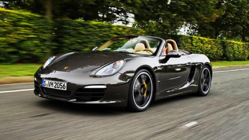 Photo Credit: Porsche Boxster