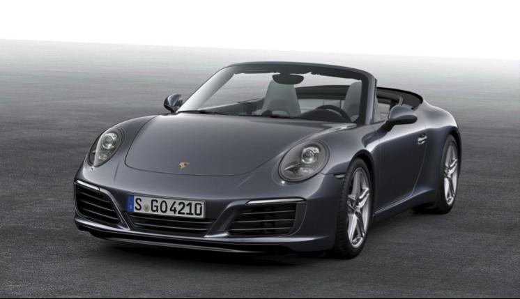 Photo Credit: Porsche Cabriolet 911
