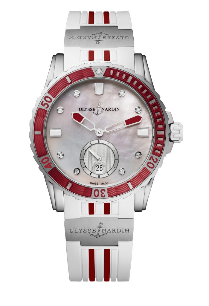 From the Lady Diver collection by Ulysse Nardin