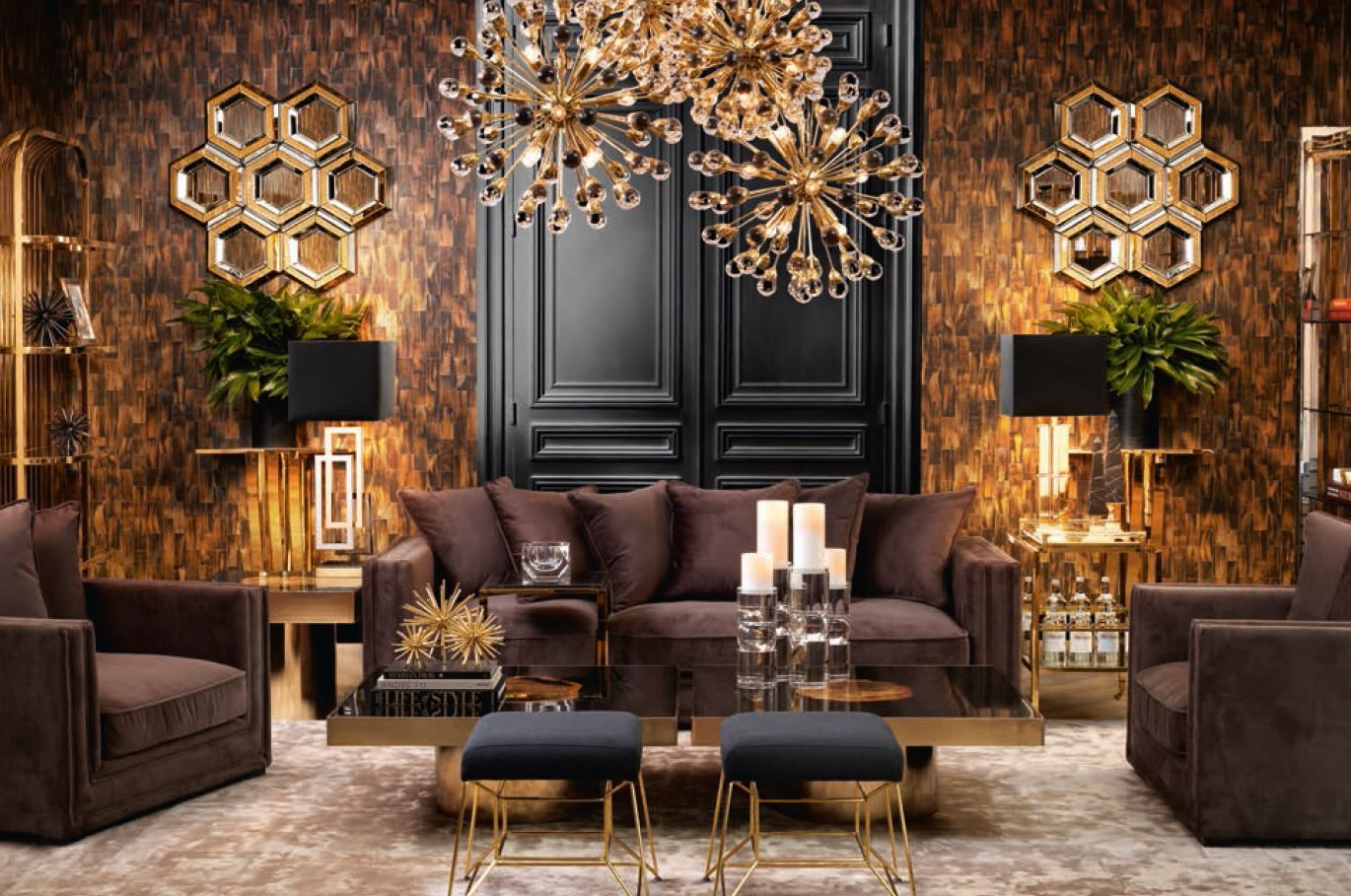 Adorn Your Ceilings With Eichholtz Style Chandelier