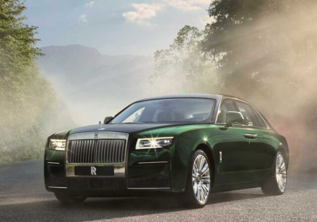 Rolls-Royce First Ghost Extended