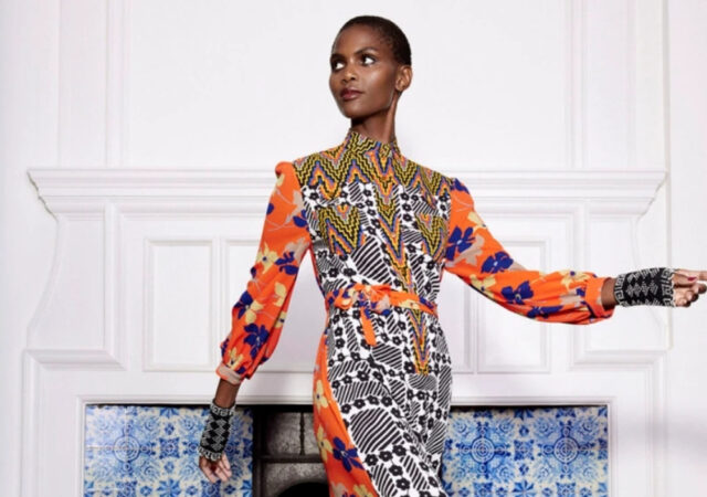 A look at Duro Olowu's RTW 2021 Fall Collection at London Fashion Week