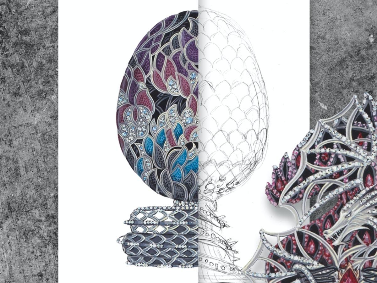 Imperial Class Fabergé Game of Thrones Egg