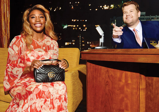 Gucci Beloved Campaign with Serena Williams and James Corden
